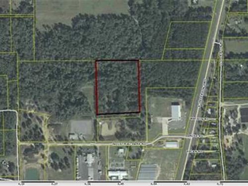 Vacant Storm Water, Jefferson Coun : Monticello : Jefferson County : Florida