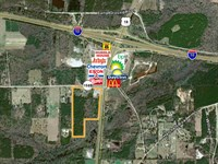 Great Interstate Location Near I-10 : Monticello : Jefferson County : Florida