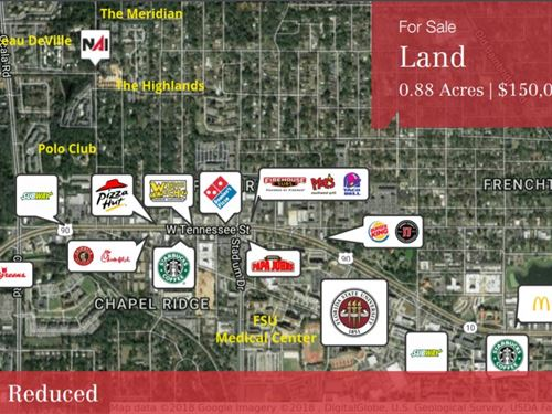 Land For Multi-Family Development : Tallahassee : Leon County : Florida
