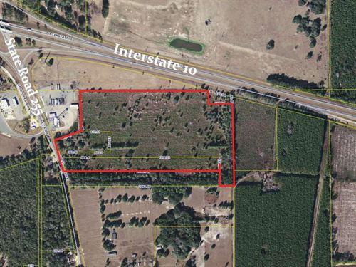Zoned Mixed Use 57+ Acres : Madison : Leon County : Florida