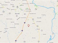 88 Acres of UD Zoned Land in Rock : Rock Hill : York County : South Carolina