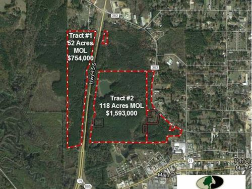 Tract 2, 118 Acres of Prime Com : Philadelphia : Neshoba County : Mississippi