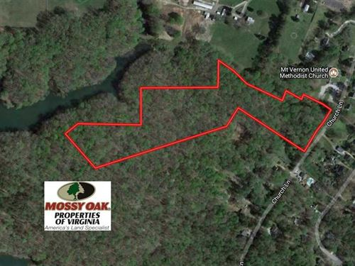 13 Acres of Residential And Recrea : Toano : James City County : Virginia