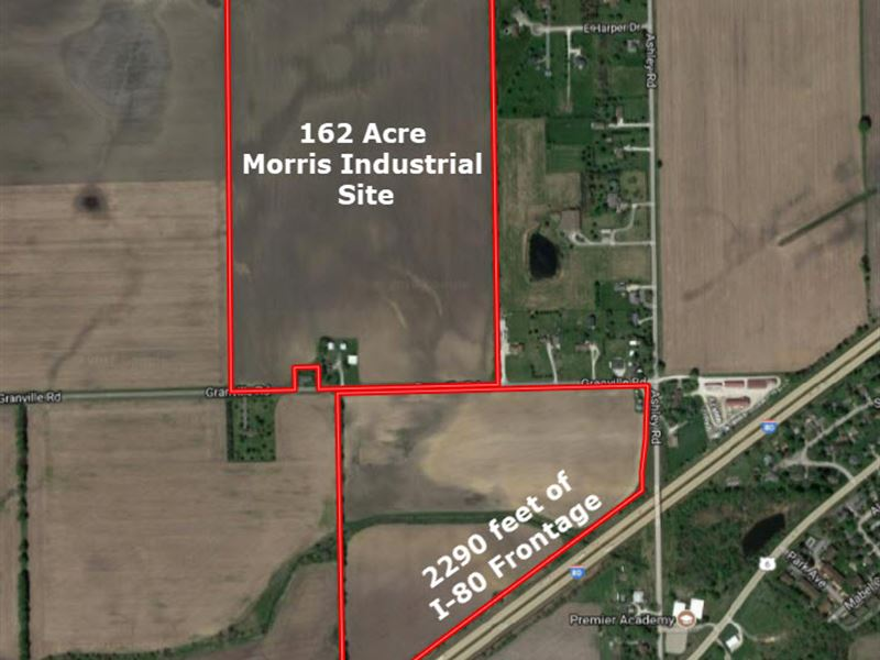 162 Acre Morris Business Park Site : Morris : Grundy County : Illinois