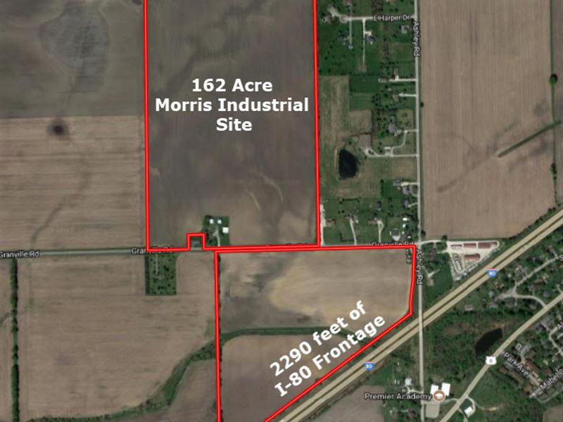 162 Acre Morris Business Park Site : Morris : Grundy County : Illinois