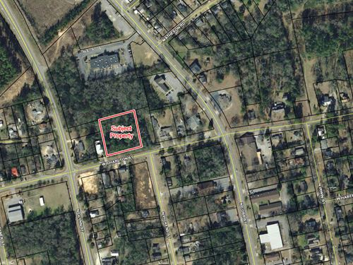 1.17 Acres W Commercial Potential : Milledgeville : Baldwin County : Georgia