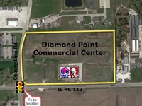Diamond Point Commercial Center : Diamond : Will County : Illinois