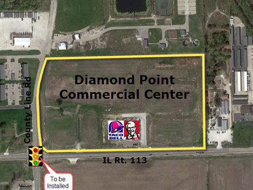 Diamond Point Commercial Center : Diamond : Will County : Illinois