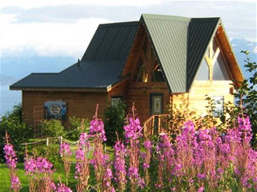 15+ Acre Lodging Business Homer AL : Homer : Kenai Peninsula Borough : Alaska