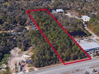 5.05 Acres, St. Johns Bluff : Jacksonville : Duval County : Florida