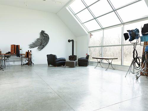 The Thomas Gibson Studio Home : Lecompton : Douglas County : Kansas