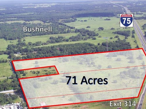 Commercial + Industrial Site : Bushnell : Sumter County : Florida