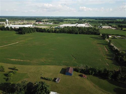46 Acres Just 3/4 Miles of I69 : Gas City : Grant County : Indiana