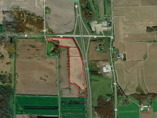 50 +/- Acres With Lots Of Potential : Endeavor : Marquette County : Wisconsin