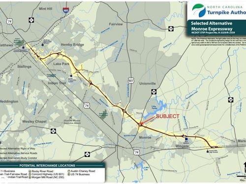 Monroe Bypass Development Opportuni : Monroe : Union County : North Carolina