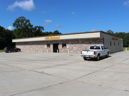 5 Acres With A Commercial Building : Collins : Covington County : Mississippi
