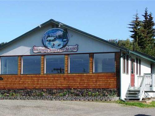 Under Contract Retail Stoves, Fi : Homer : Kenai Peninsula Borough : Alaska