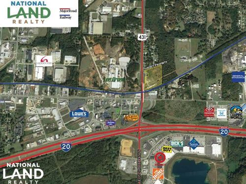 Oxford Hwy, 431 Commercial Tract : Oxford : Calhoun County : Alabama