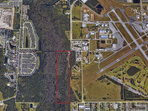 41 Ac Industrial Land- Single Creek : Kissimmee : Osceola County : Florida