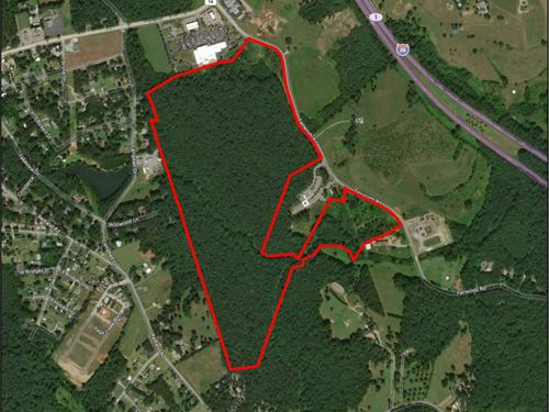 119 Acres Of Development Property : Landrum : Spartanburg County : South Carolina