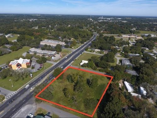 Commercial Lot Available : Dade City : Pasco County : Florida