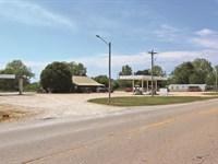 Turn-Key Convenience Store & Land : Haworth : McCurtain County : Oklahoma