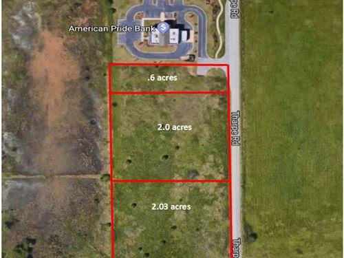 Prime Commercial Lots Available : Warner Robins : Houston County : Georgia
