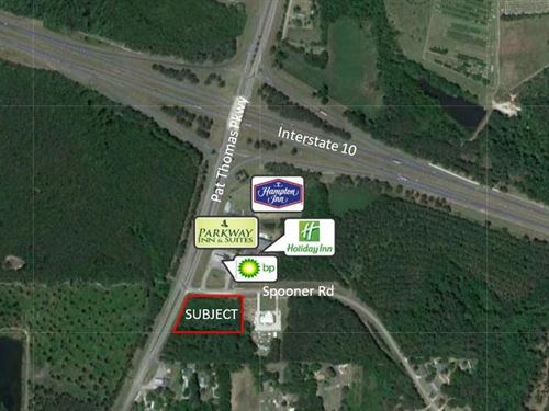2.26 Ac On Spooner Rd & Hwy 267 : Quincy : Gadsden County : Florida