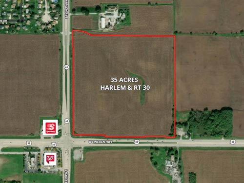 35 Ac Harlem And Rt. 30 Commercial : Frankfort : Cook County : Illinois