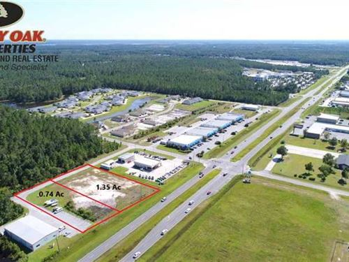.74 Acres Commercial Lot on Kings : Saint Marys : Camden County : Georgia