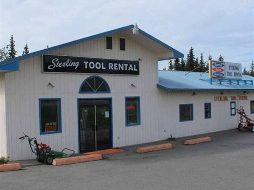 Year-Round Tool Rental Business : Sterling : Kenai Peninsula Borough : Alaska