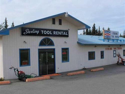 Year-Round Tool Rental Business : Sterling : Kenai Peninsula Borough : Alaska