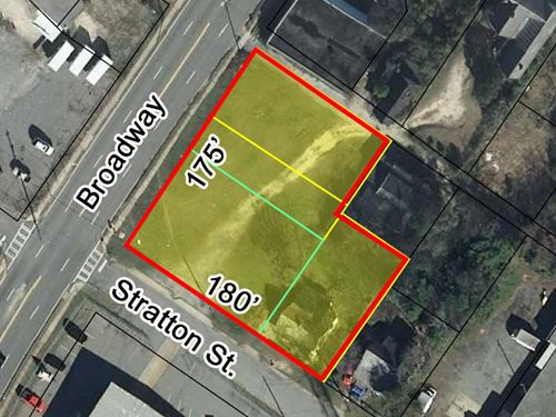 Reduced 4 Lots Totaling 0.6 Ac : Macon : Bibb County : Georgia