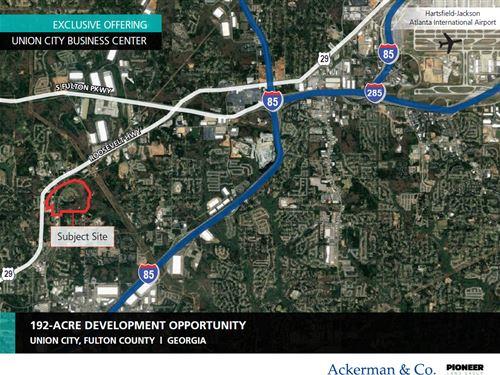 192 Acre Development Opportunity : Union City : Fulton County : Georgia