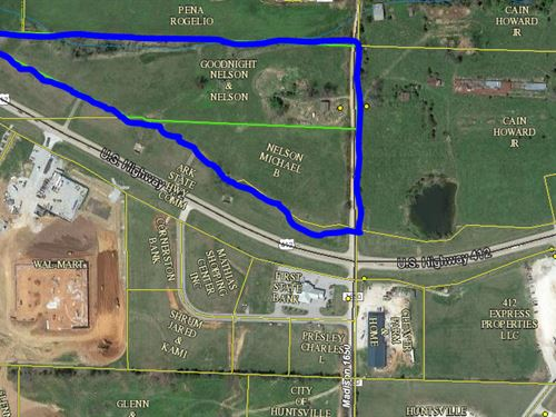 13.5 ac Commercial Development : Huntsville : Madison County : Arkansas