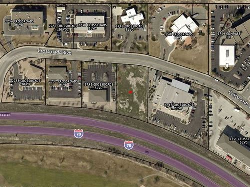 Prime Commercial Lot Interstate : Grand Junction : Mesa County : Colorado