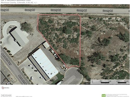 Commercial Industrial Land Montrose : Montrose : Colorado