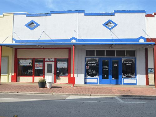 Store Front Historic Downtown : Arcadia : Desoto County : Florida