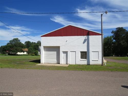 Storage Building Commercial Garage : Askov : Pine County : Minnesota