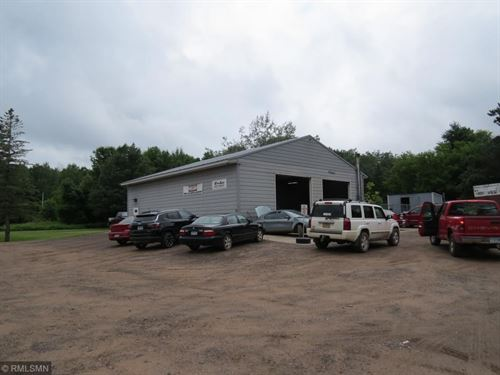 Great Commercial Building Lot Nice : Sandstone : Pine County : Minnesota