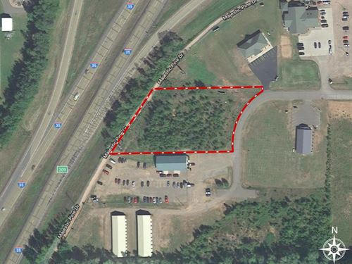 Commercial Lot Available Along : Sturgeon Lake : Pine County : Minnesota
