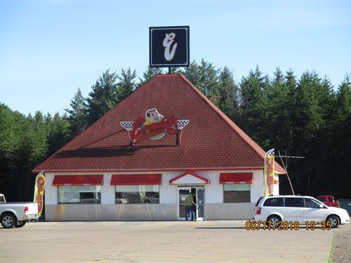 Business, Diner, Cafe, Sturgeon : Sturgeon Lake : Pine County : Minnesota