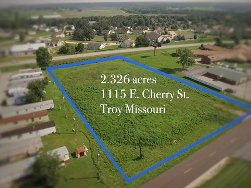 Commercial Development Land Troy MO : Troy : Lincoln County : Missouri