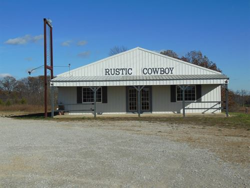 Commercial Building Willow Springs : Willow Springs : Howell County : Missouri