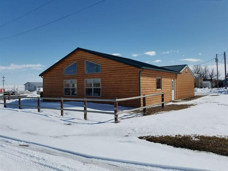 Montana Hunting Cabin Commercial Property For Sale Sunburst