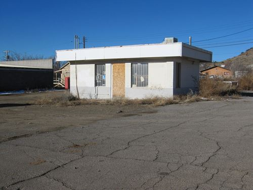 Great Commercial Corner Lot Bayard : Bayard : Grant County : New Mexico