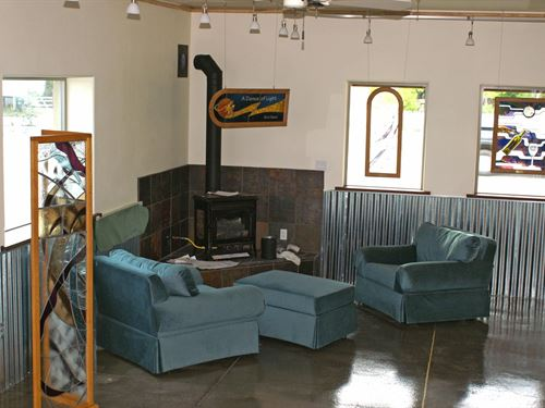 Chama NM Commercial Building : Chama : Rio Arriba County : New Mexico