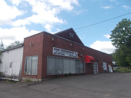 Commercial Bldg, Deposit, Ny : Deposit : Broome County : New York