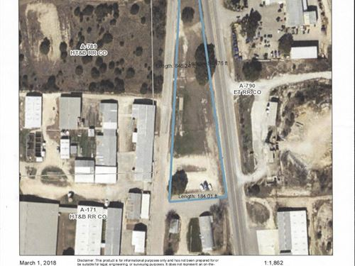 Commercial Lot Mills County Texas : Goldthwaite : Mills County : Texas