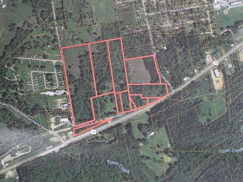 Commercial / Residential Tract East : Palestine : Anderson County : Texas